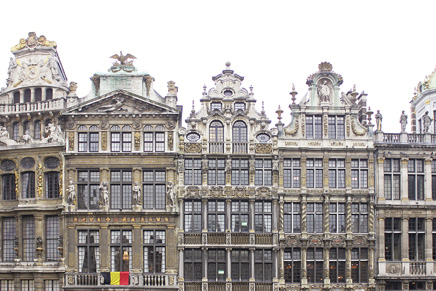Zunfthäuser am Grand Place