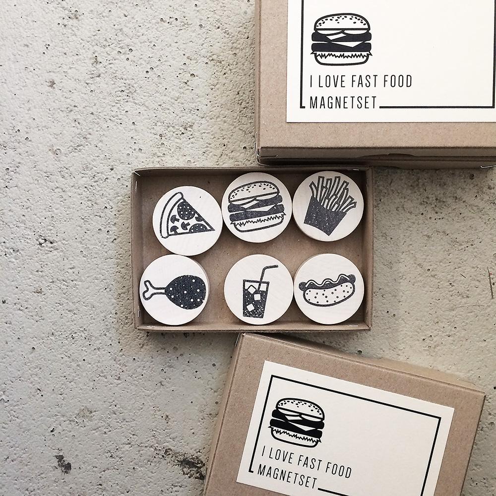 Fast Food Magnete